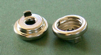 Pull the Dot Socket - Nickel Plated Brass